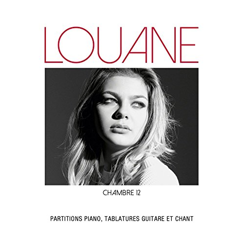 Partitions variété, pop, rock AEDE MUSIC LOUANE - CHAMBRE 12 - PVG TAB Piano voix guitare