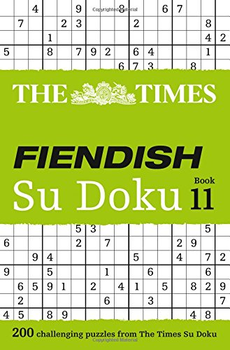 The Times Fiendish Su Doku Book 11 (Times Mind Games) thumbnail