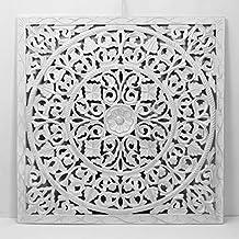 -Mandala de Pared, Fabricada artesanalmente en España- tamaño 80x80 cm, Modelo GR94
