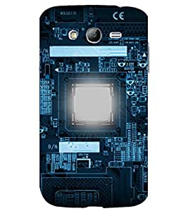 printtech Nerd Circuit Electronics Back Case Cover for Samsung Galaxy Grand Neo Plus / Samsung Galaxy Grand Neo Plus i9060i