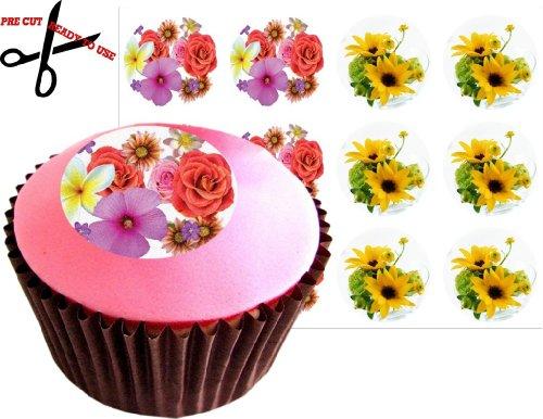 12 fleurs (SET) 38 mm (1.5