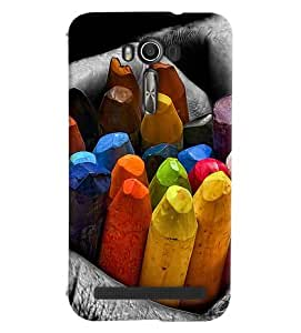 FurnishFantasy Designer Back Case Cover for Asus Zenfone 2 Laser ZE550KL