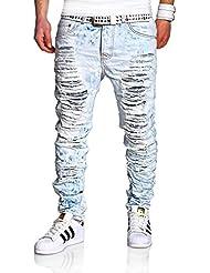 MT Styles Destroyed Jeans Slim Fit pantalon RJ-2268