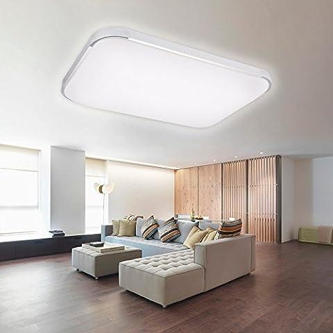 AGM Plafonnier LED 48W Ultra Mince Moderne Lampe Lumière Eclairage
