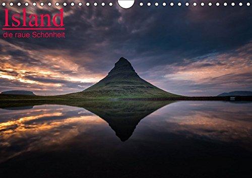 Preisvergleich Produktbild Island - die raue Schönheit (Wandkalender 2017 DIN A4 quer): Beeindruckende Island Impressionen. (Monatskalender, 14 Seiten ) (CALVENDO Natur)