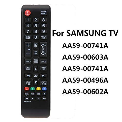 Fernbedienung for Samsung Smart TV AA59-00603A AA59-00741A AA59-00496A AA59-00602A (Batterie nicht enthalten)