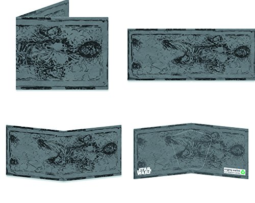 Dynomighty Design Star Wars: Han Solo in Karbonit Mighty Wallet (Design Dynomighty)