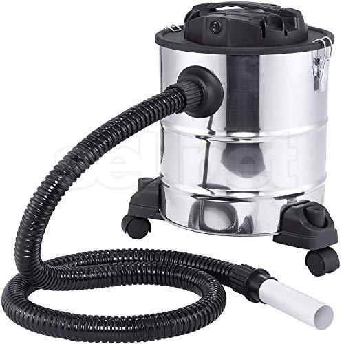 *SELLNET Aschesauger 20L Kaminsauger 1200W DUAL Filter System mit 3 Rollen SN131*