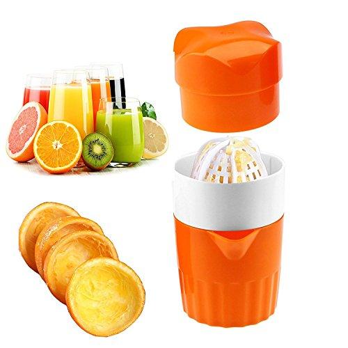 WOVELOT Handpresse Entsafter Werkzeug Haushalt Manuelle Entsafter Saftflasche Fruit Squeezer Maschine Extractor Handpresse Tasse
