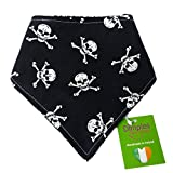 Dimples Hundehalstuch - Piraten Jolly Roger  25cm