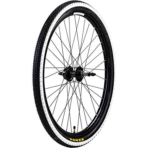 "Galano Laufradsatz 26 Zoll Mountainbike Fahrrad MTB Aluminium Felgen Kenda 26"" (hinten)"