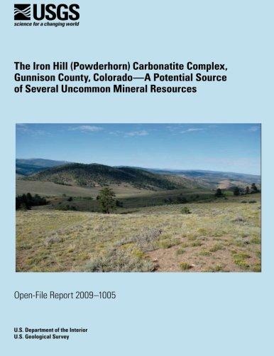 The Iron Hill (Powderhorn) Carbonatite Complex, Gunnison Country, Colorado por U.S. Department of the Interior