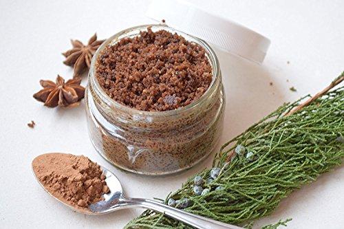 braun-zucker-schrubben-organische-vegane-pellen-peeling-gesichtspflege-naturliche-putzen-hautpflege-