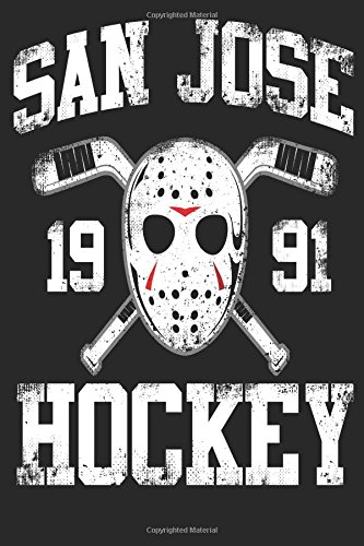 San Hose 1991 Hockey: Lined Notebook Journal To Write In
