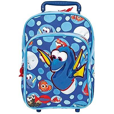 Perletti - Trolley de niño Buscando a Dory Disney - Mochila con ruedas y correas para con estampado de Nemo y Dory - 31 x 23,5 x 13 cm de Perletti