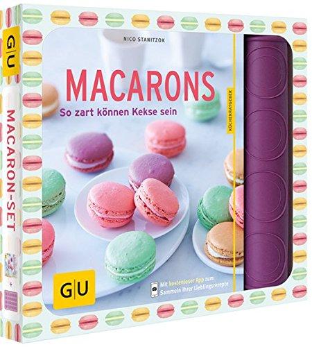 Preisvergleich Produktbild Macaron-Set: So zart können Kekse sein (GU Buch plus)