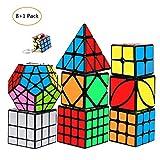 mimisasa Zauberwürfel Glatte Magic Speed Cube Triangle Pyraminx