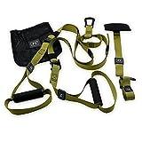 Newdoar Fitness Geräte Sling Trainer base Schlingentrainer Pro Functional Training Fitness 140 cm