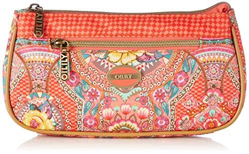 Oilily FP Basic Cosmetic Bag OCB5124-219 Damen Kosmetiktäschchen 23x12x5 cm (B x H x T), Pink (Coral 219)