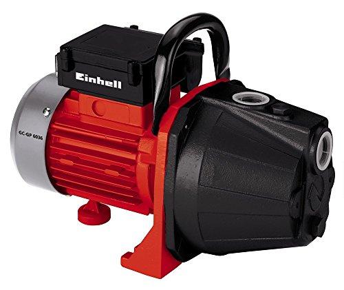 Einhell Pompe d'arrosage de surface électrique GC-GP6036 (600 W, Débit max. 3.600 l/h, Interrupteur marche/arrêt, Poignée de...