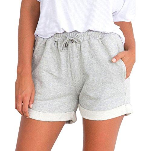 Neu Sommer Frauen Shorts Lace Up Bequeme Elastische Bund Lose Beiläufige Höschen Gepäck & Taschen