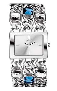 Guess - Reflection 11045L2 - Montre Femme - Quartz - Bracelet Métal Argent