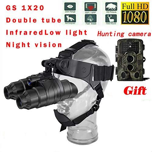 Taotuo NV007 200 m Alcance Digital Caza Visión Nocturna Visión Alcance WiFi Óptico 5W IR Visión Nocturna por Infrarrojos Visor con aplicación ...