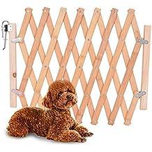 Barrera de seguridad para mascotas de perros pequeños Barrera extensible doméstica de ...