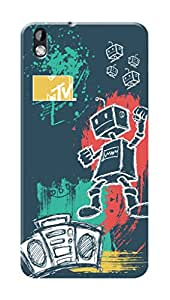 MTV Gone Case Mobile Cover for HTC Desire 816