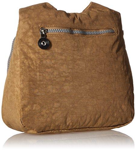 Suvelle City Travel Small Crossbody, Borsa, borsa, borsa a tracolla 9288 Brown