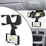 Universale per Smartphone per auto supporto per auto specchietto retrovisore