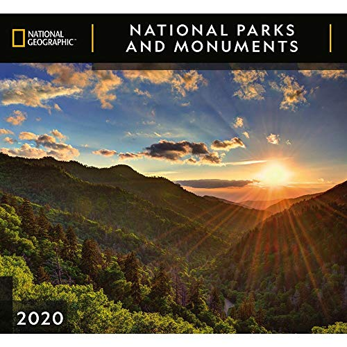 Zebra Publishing Wandkalender 2020 National Parks NG -