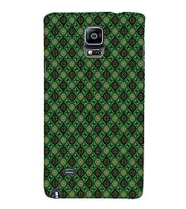 EPICCASE greenish florist Mobile Back Case Cover For Samsung Galaxy Note 4 EDGE (Designer Case)