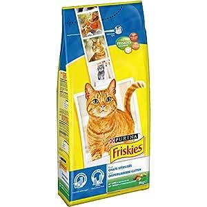 Friskies Chat Croquettes pour chat adulte stérilisé Lapin & Légumes ajoutés 2 kg - Lot de 6 (12 kg)