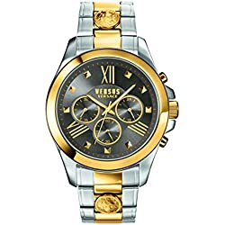 Versus by Versace Herren sbh060015Chrono Löwe Analog Display Quarz Zweifarbige Armbanduhr