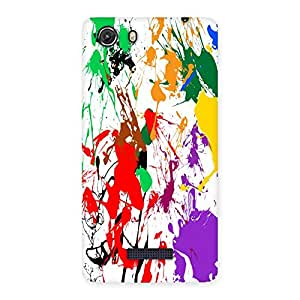 Unicovers Colors Back Case Cover for Micromax Unite 3