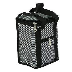 Kuber Industries Stylish Canvas Lunch Bag - KI3369