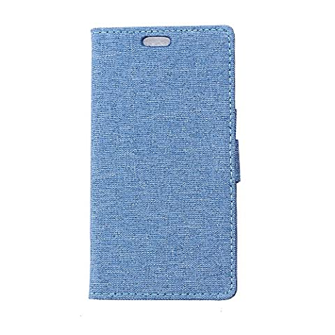 Coque Samsung Galaxy A3 Étui Bookstyle Bleu , Cozy Hut