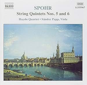 String Quintets Nos. 5 and 6 (Papp, Haydn String Quartet)