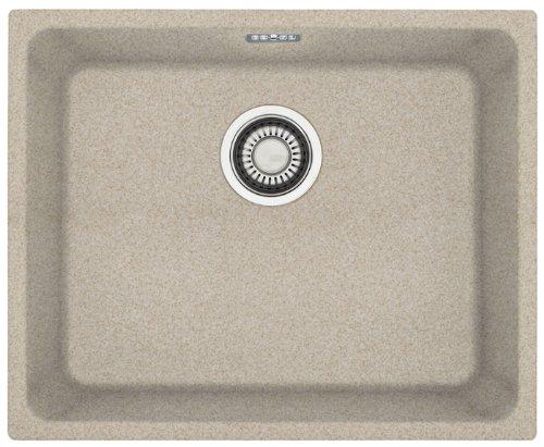 Franke Kubus KBG 110-50 1250176654 – Fregadero (material Fragranite DuraKleen Plus), montaje bajo encimera, color beis