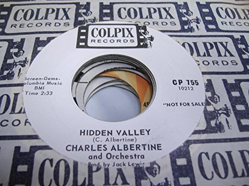 charles-albertine-45-rpm-hidden-valley-the-pumpkin-eater