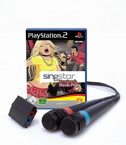 SingStar Deutsch Rock-Pop Vol. 2 inkl. 2 Mikrofone