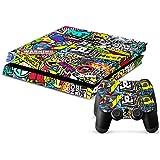 Sony PS4 Playstation 4 Skin Design Foils Pegatina Set - Hoonigan Motivo