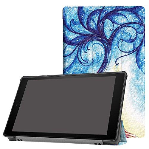 HÜLLE für Amazon Fire HD10 10.1 Tablet Smart Cover Slim Case Etui Tasche + Gratis Stylus Pen Case Cover Stylus Pen