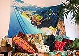 Cultural Intrigue Luna Bazaar Kauai, Hawaii Foto Gobelin und zum Art Wand (Extra Large, 7,5x 4,8Füße, 100% Baumwolle)