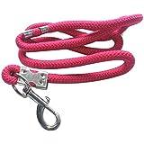 Suraj Chain Smart Doggie Nylon Rope For Medium Dog - Pink