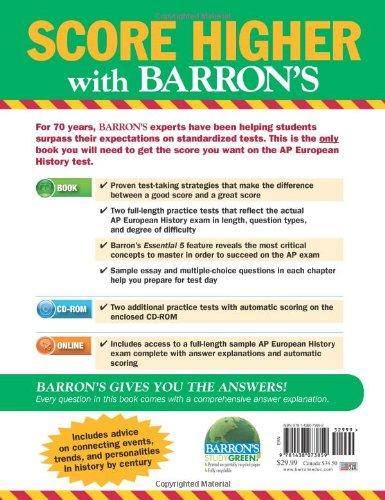AP European History (Barron's Ap European History)