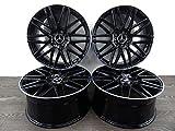 4 Alufelgen Z Design Wheels Z001 18 Zoll passend für Mercedes A 177 C 205 E 211 238 213 GLA GLC S SLC Vito NEU
