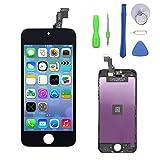 Ecran De Remplacement Pour iPhone 5C Ecran Tactile LCD Kit De Réparation Ecran D'affichage Touche Avec Kit D'outils Noir