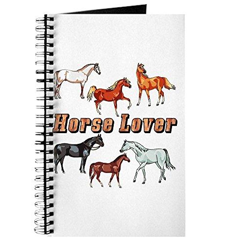 CafePress-Pferd-Spiralbindung Journal Notebook, persönliches Tagebuch, Dot Grid